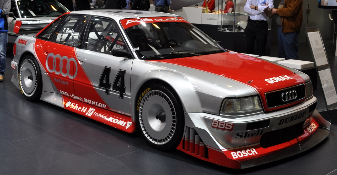 Audi 80 V6 DTM... V6 ? DTM ? C'est quoi c'bordel ?! 12