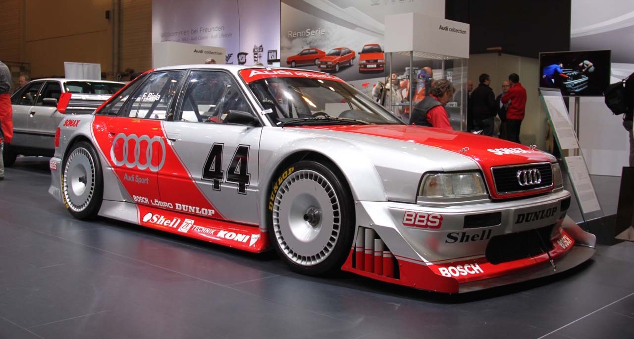 Audi 80 V6 DTM... V6 ? DTM ? C'est quoi c'bordel ?! 8