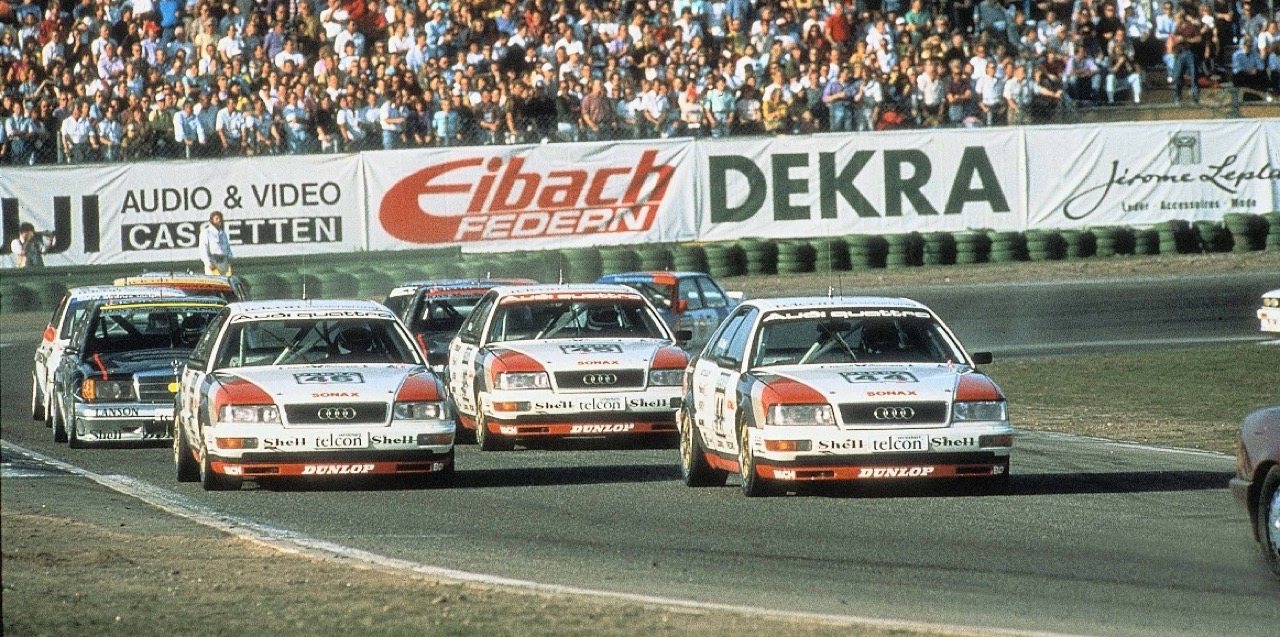 Audi 80 V6 DTM... V6 ? DTM ? C'est quoi c'bordel ?! 3