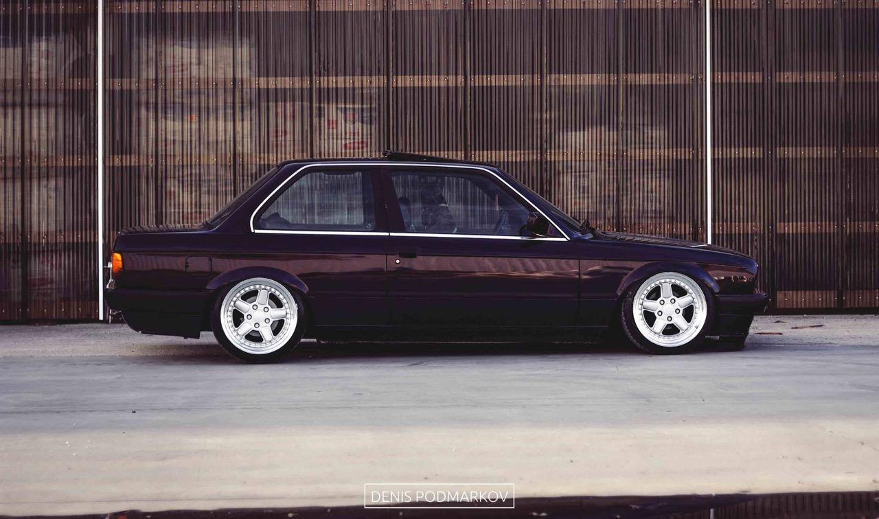 BMW E30 en AC Schnitzer... Ma tante en porte-jarretelles ! 4