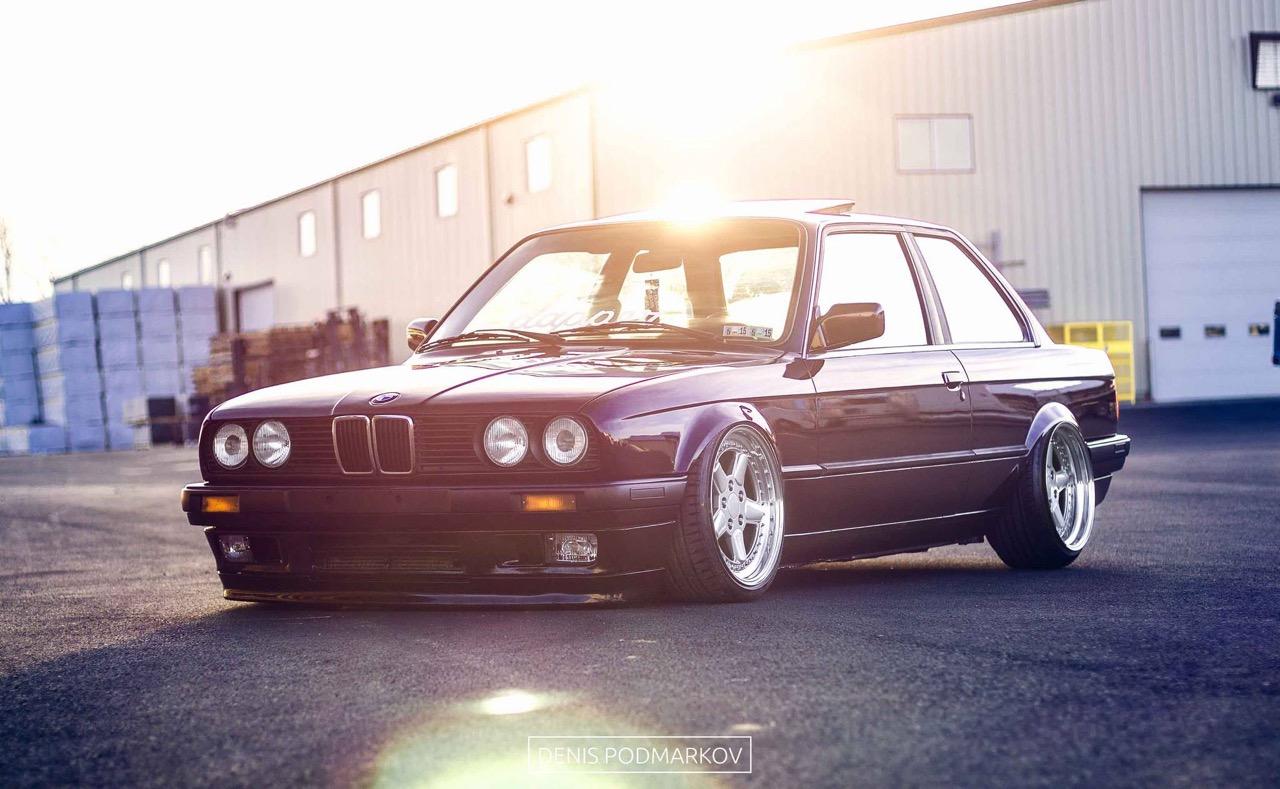 BMW E30 en AC Schnitzer... Ma tante en porte-jarretelles ! 21