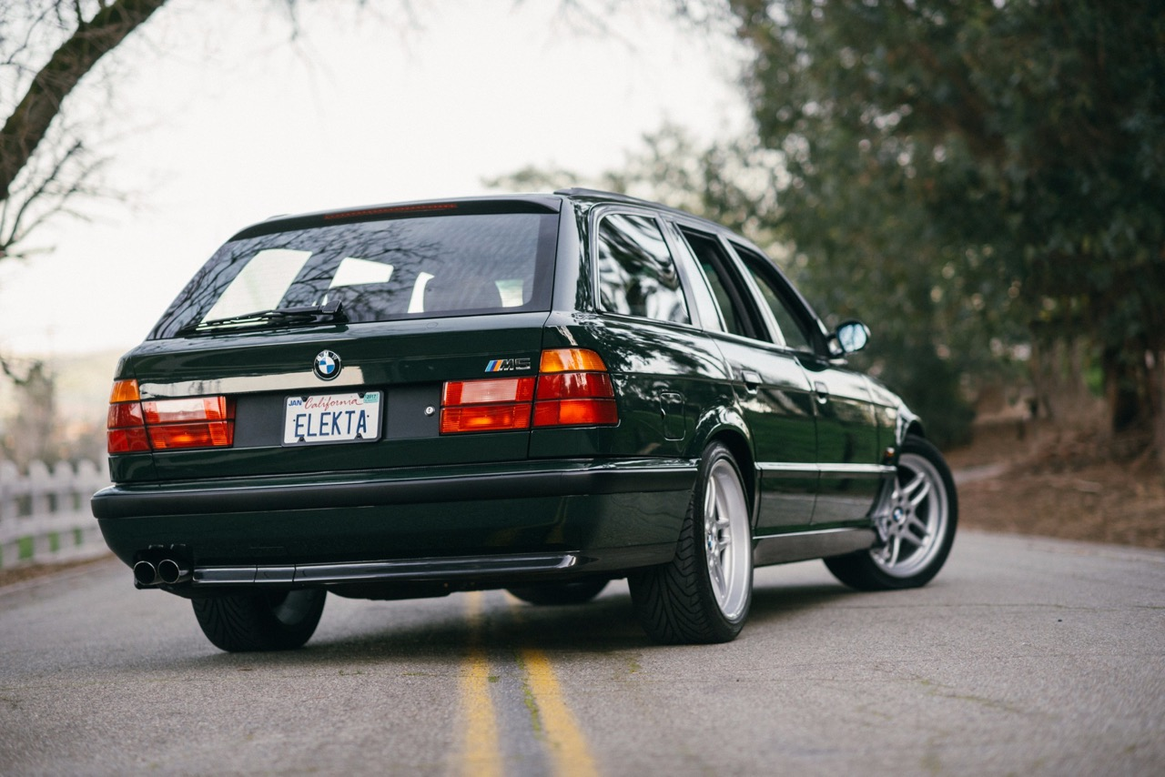 BMW M5 3.8l E34 Touring Elekta - Plus rare que rare... 4