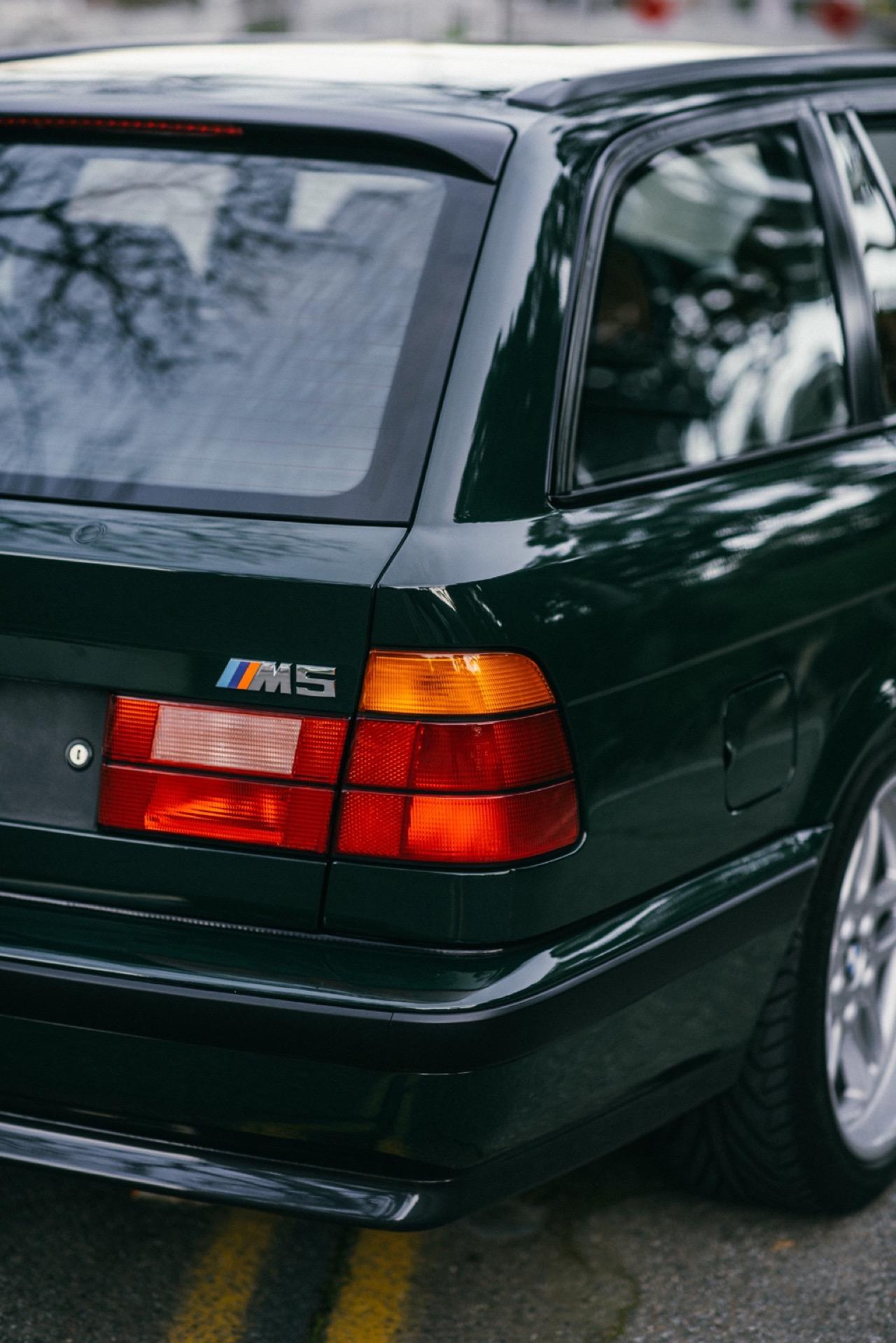 BMW M5 3.8l E34 Touring Elekta - Plus rare que rare... 1