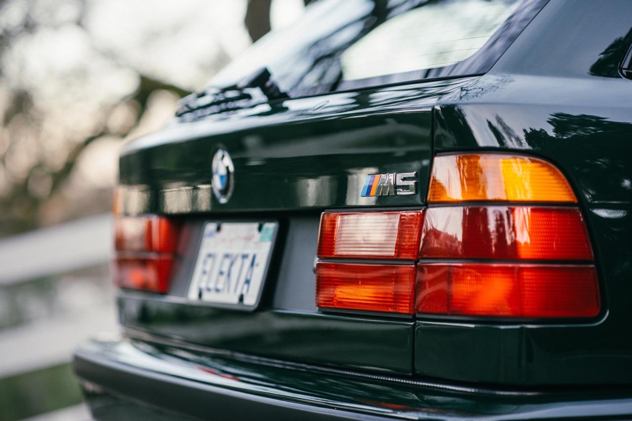 BMW M5 3.8l E34 Touring Elekta - Plus rare que rare... 50