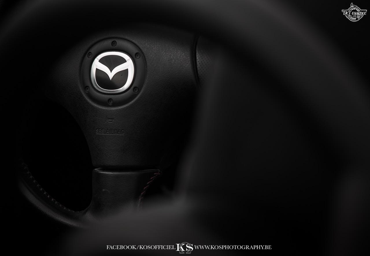 Slammed Mazda MX5 NB... Camille passe à l'air ! 49