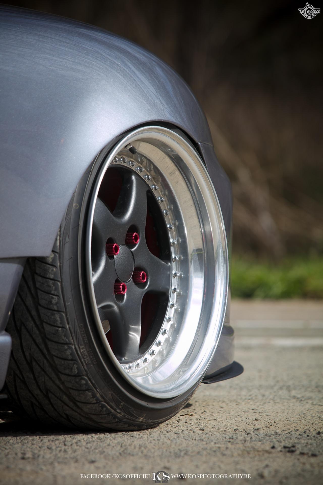 Slammed Mazda MX5 NB... Camille passe à l'air ! 61