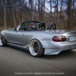 Slammed Mazda MX5 NB... Camille passe à l'air ! 27