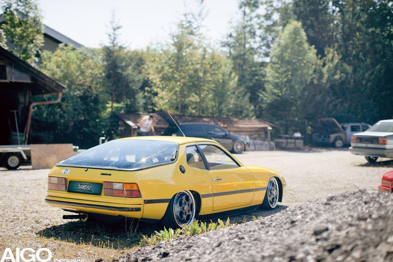 Bagged Porsche 924... Aucun scrupule ! 2