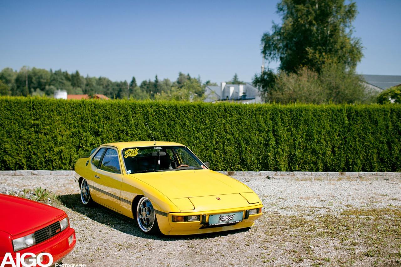Bagged Porsche 924... Aucun scrupule ! 1