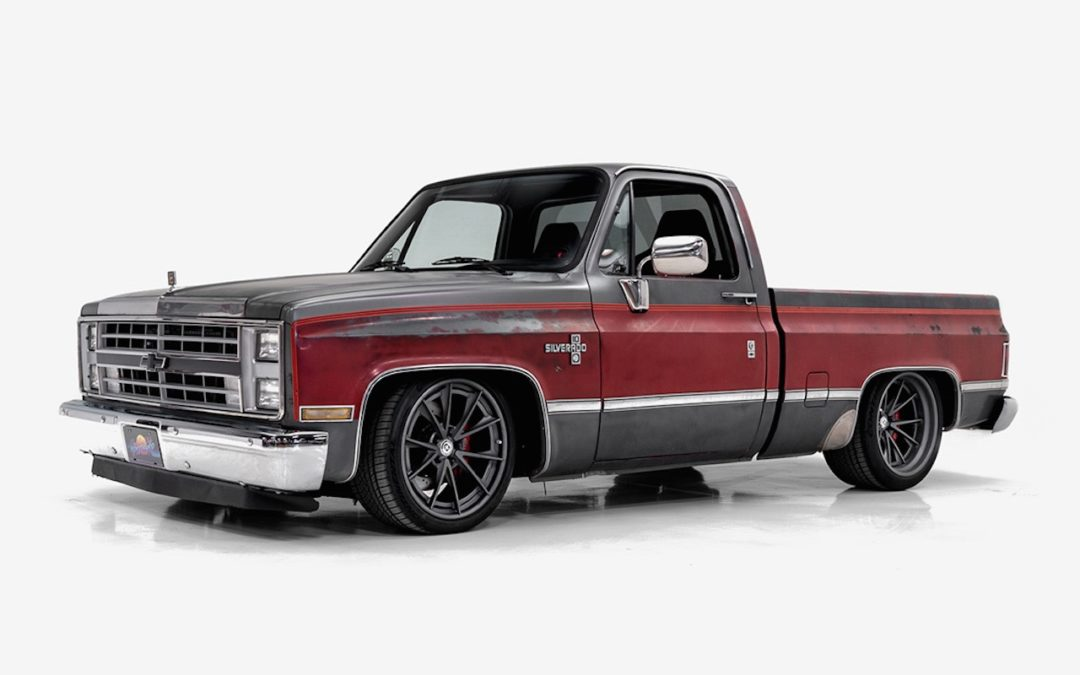 '86 Pick Up Chevy Silverado par Classic Car Studio
