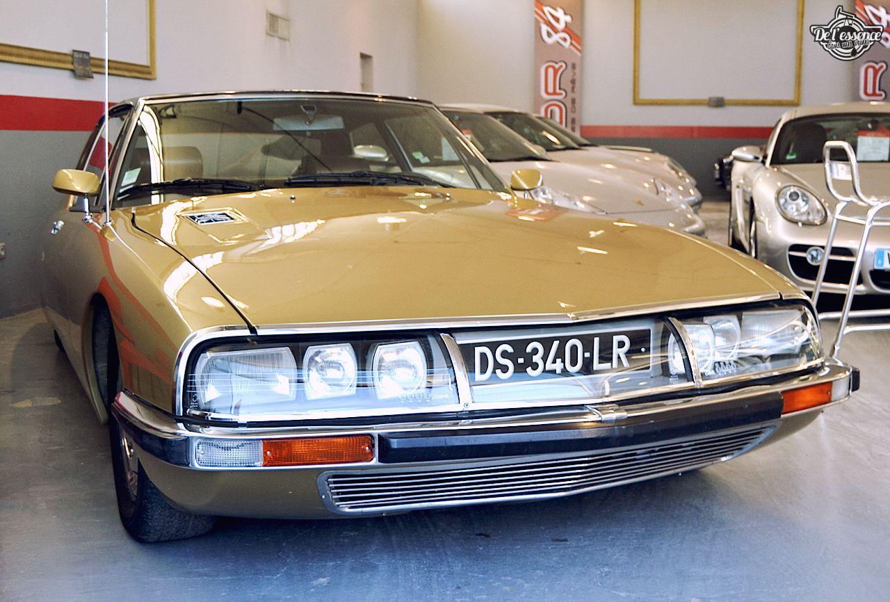 Citroen SM - La référence made in France (Enfin, c'était y'a longtemps...). 62