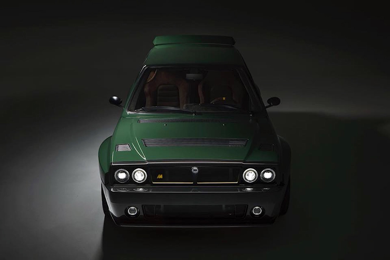 Lancia Delta HF Integrale Futurista... Lancia Great Again ! 7