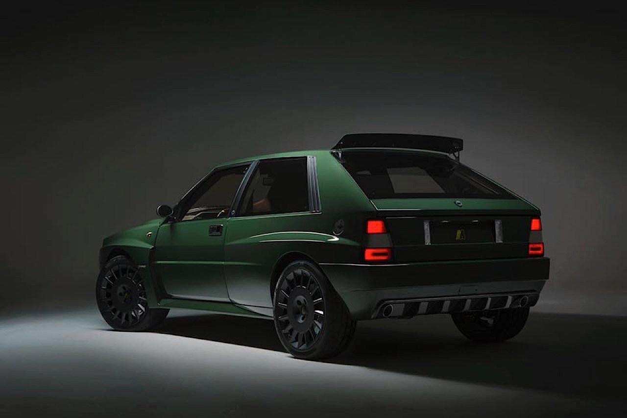 Lancia Delta HF Integrale Futurista... Lancia Great Again ! 17