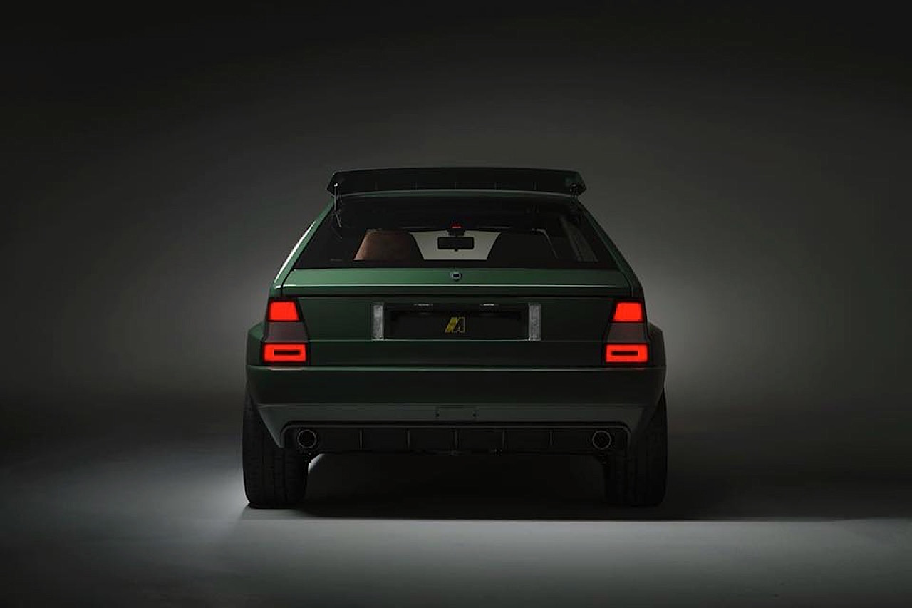 Lancia Delta HF Integrale Futurista... Lancia Great Again ! 36