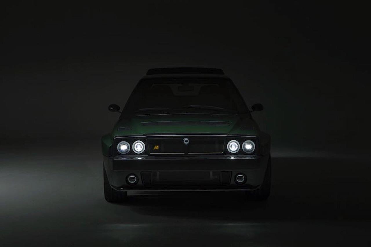 Lancia Delta HF Integrale Futurista... Lancia Great Again ! 3