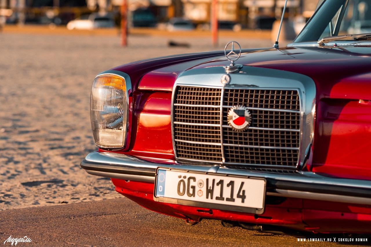 '72 Mercedes 250 W114... Raye bitume ! 3