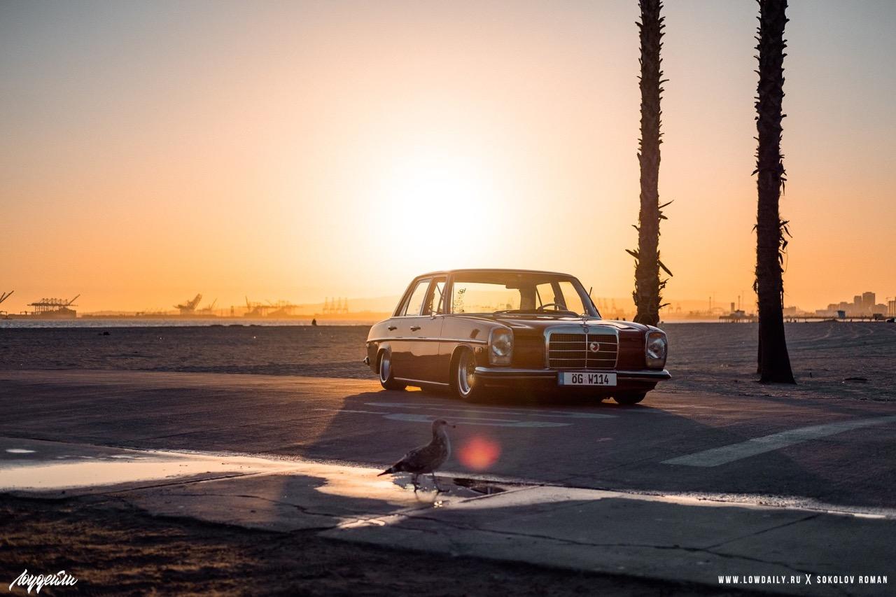 '72 Mercedes 250 W114... Raye bitume ! 5