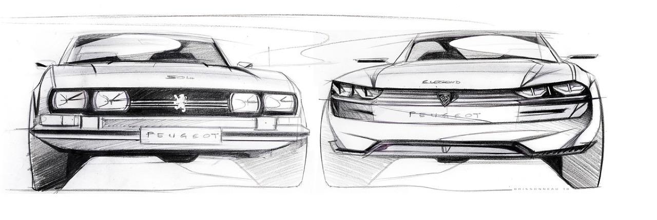 Peugeot e-Legend Concept - Y'en a marre ! 1