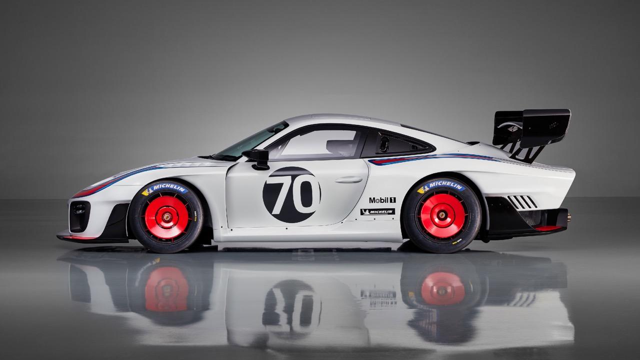 Porsche 935 Moby Dick 2K18... Le passé, c'est demain ! 2