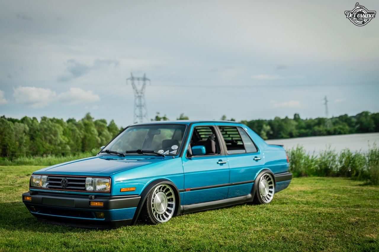 Bagged VW Jetta - Choucroute sauce BBQ ! 32