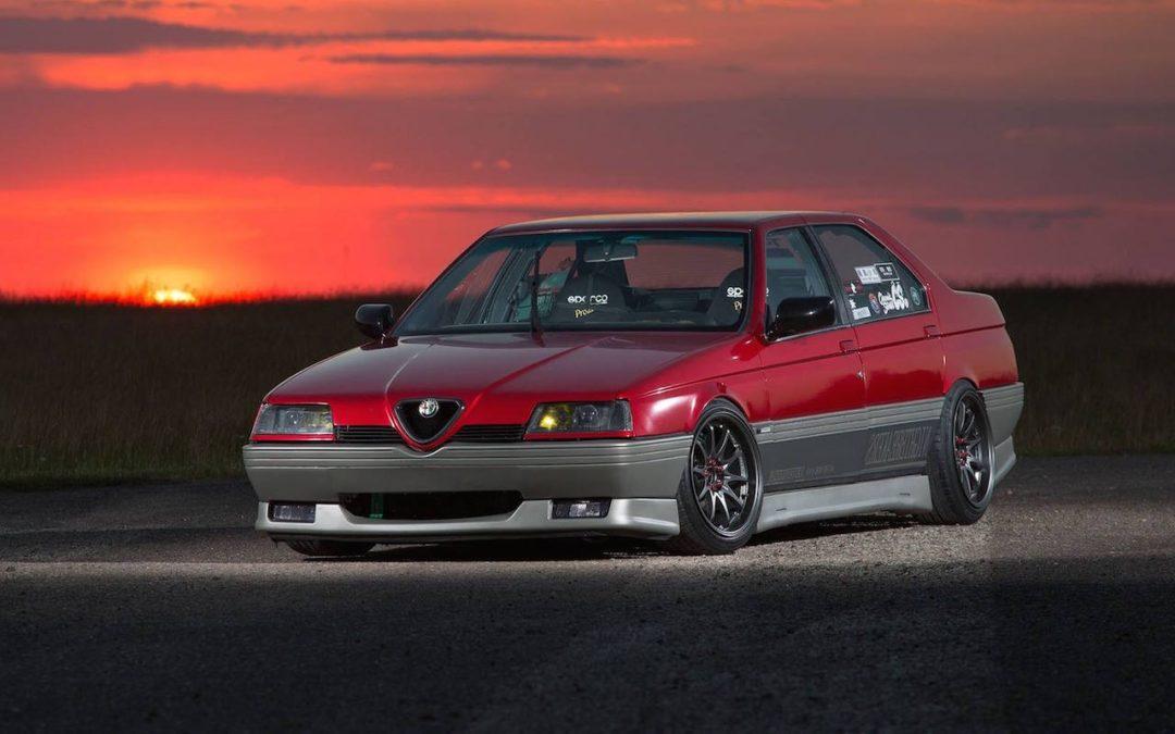 Alfa 164 Q4 – Race Diva…