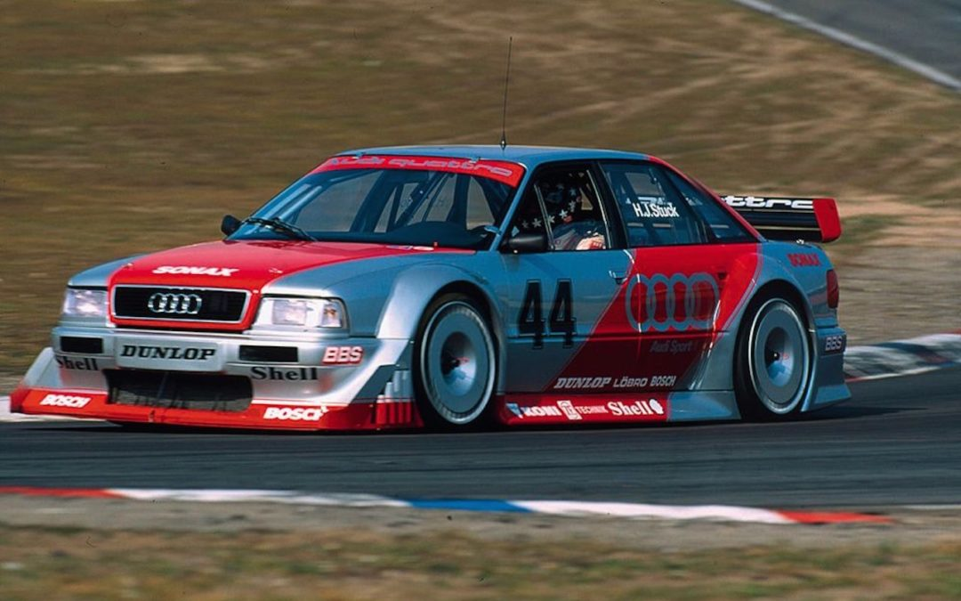 Audi 80 V6 DTM… V6 ? DTM ? C'est quoi c'bordel ?!