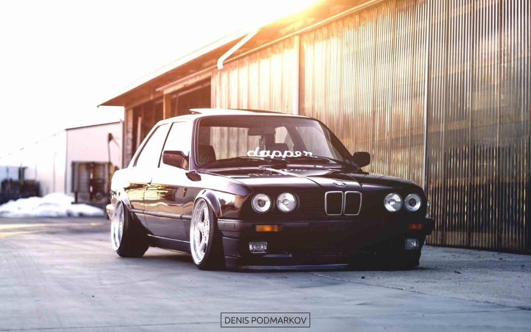 BMW E30 en AC Schnitzer… Ma tante en porte-jarretelles !
