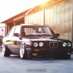 BMW E30 en AC Schnitzer... Ma tante en porte-jarretelles !