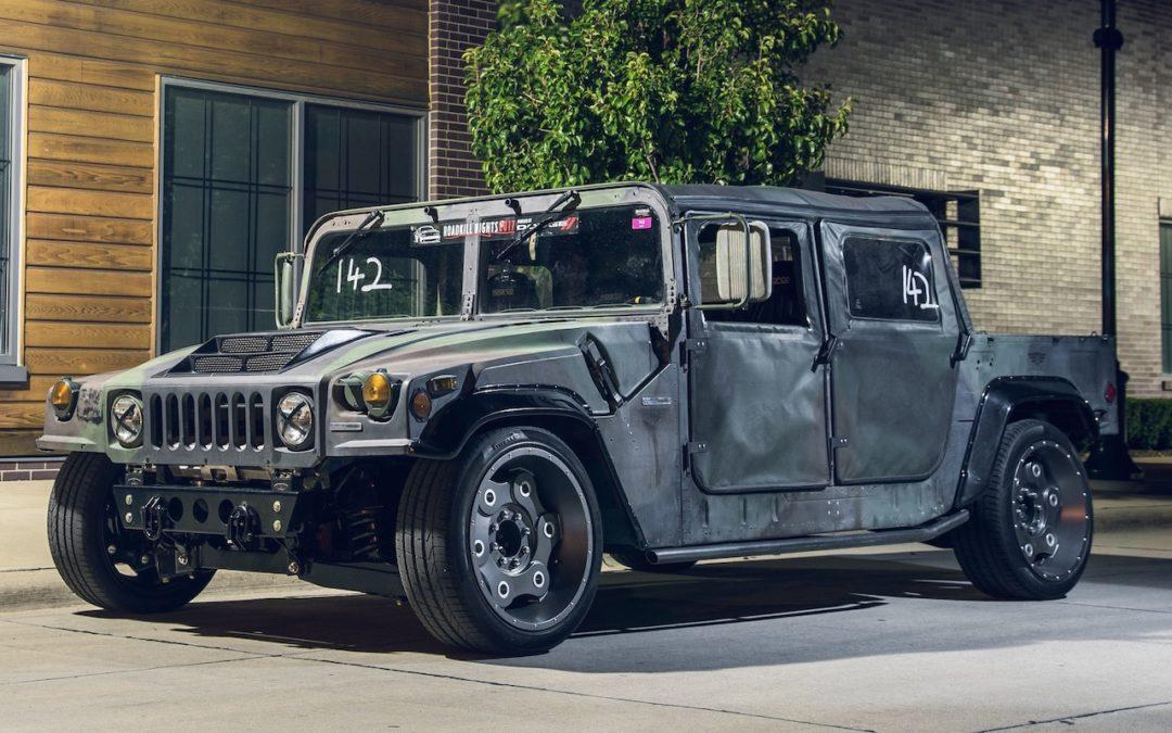 Hummer H1 Mil-Spec : Un truc de débile !