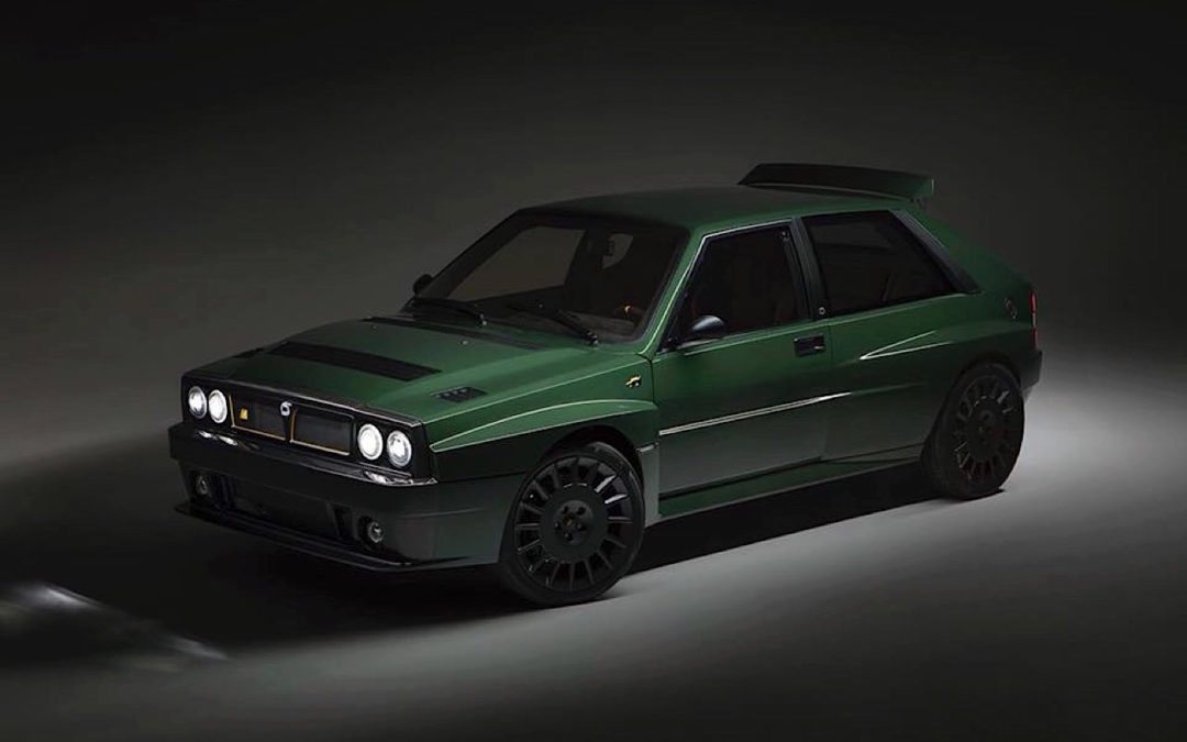 Lancia Delta HF Integrale Futurista… Lancia Great Again !