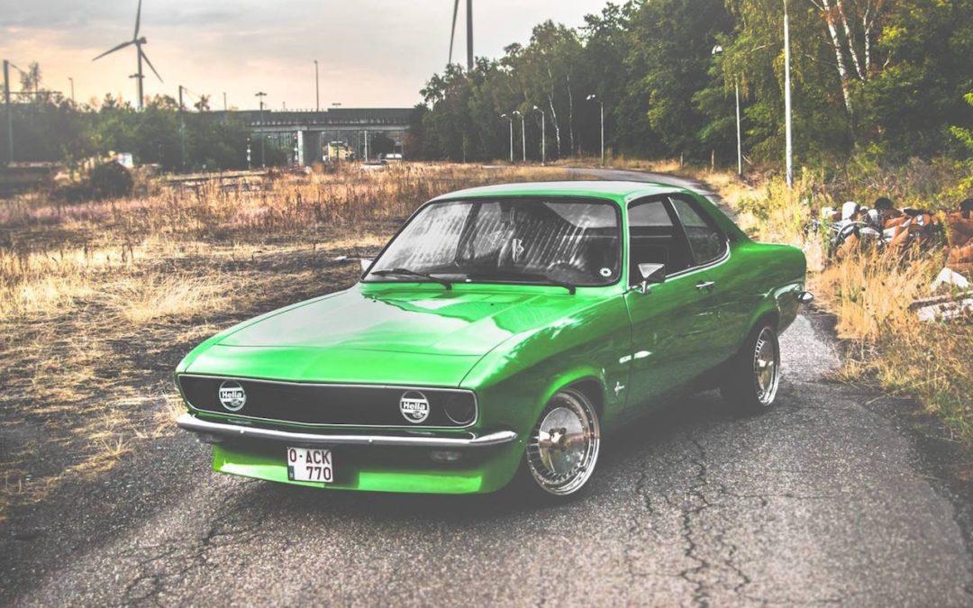 '73 Opel Manta : Muscle Car européen…