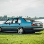 Bagged VW Jetta - Choucroute sauce BBQ !