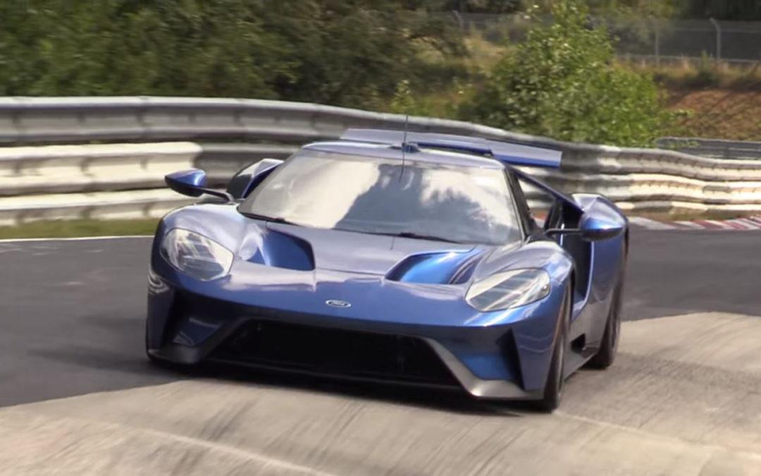 La Ford GT ponce le Nurb'