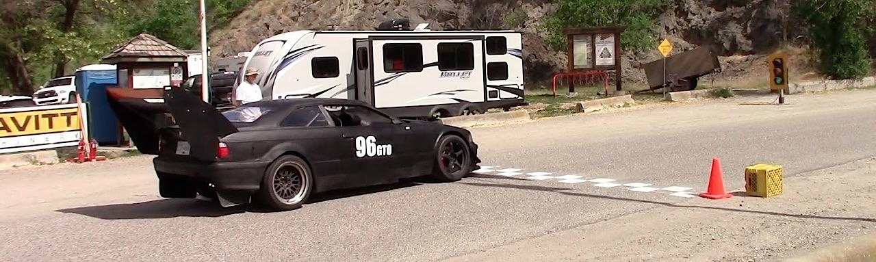 Hillclimb Monster : BMW E36 Supercharged... 2