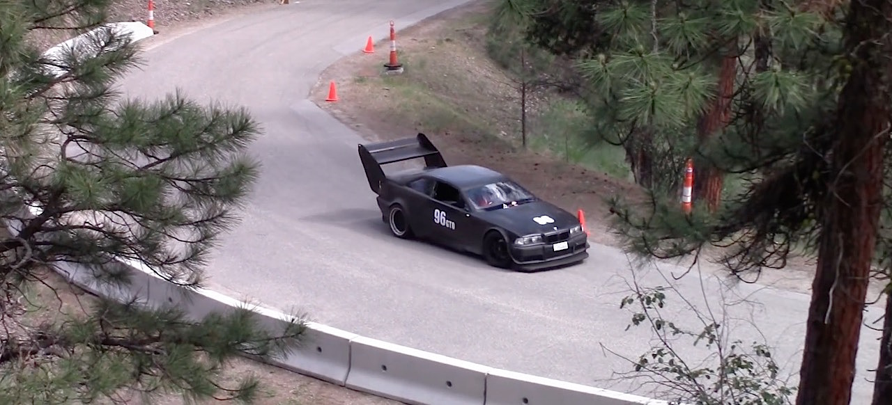Hillclimb Monster : BMW E36 Supercharged... 3