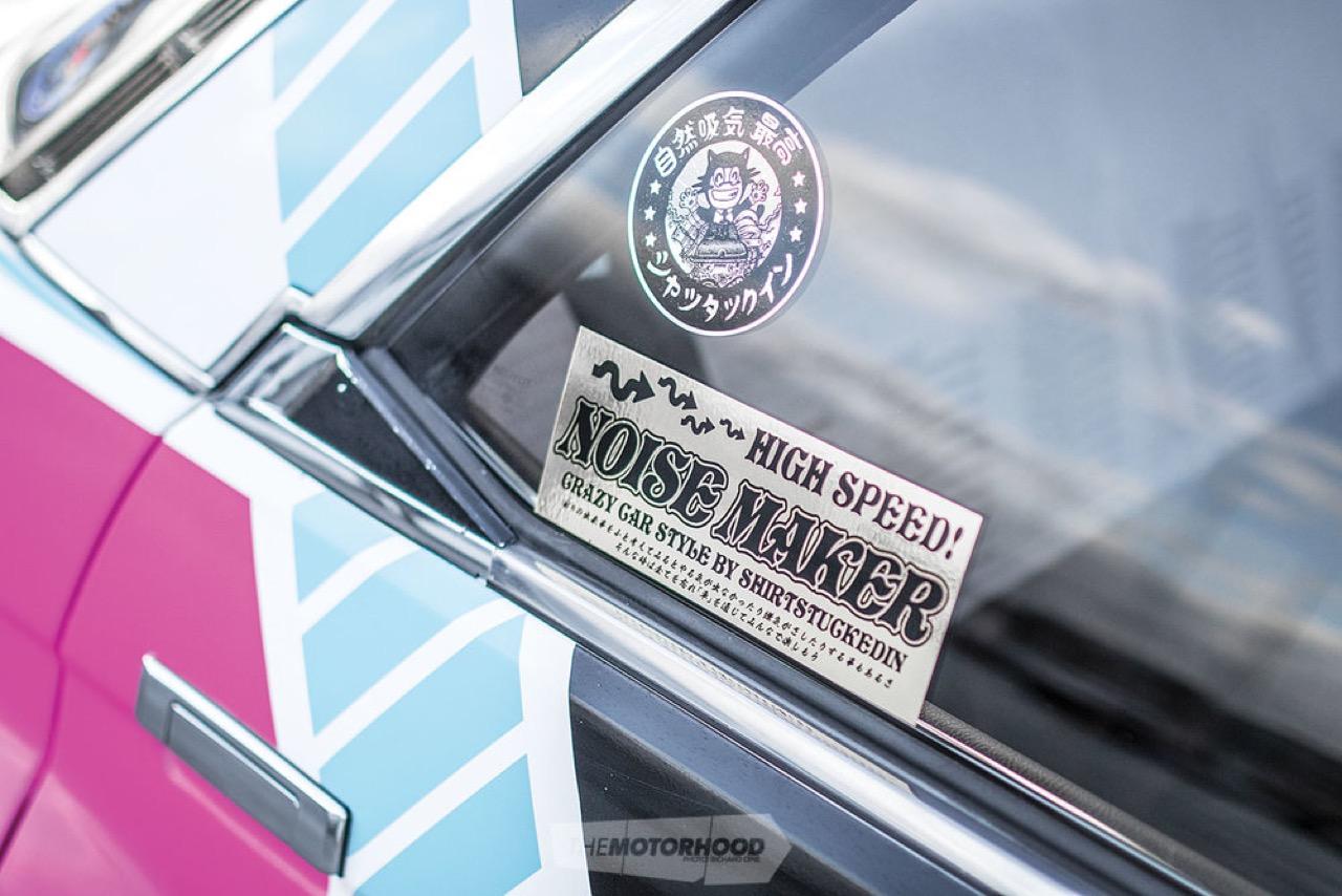 '87 Toyota Corona MkII : Boso en Sharknose ! 42