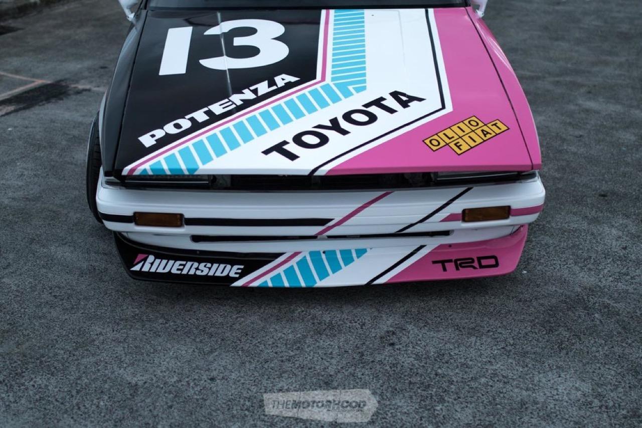 '87 Toyota Corona MkII : Boso en Sharknose ! 49