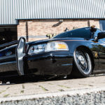 Bagged Ford Police Interceptor - To Protect & Shine !
