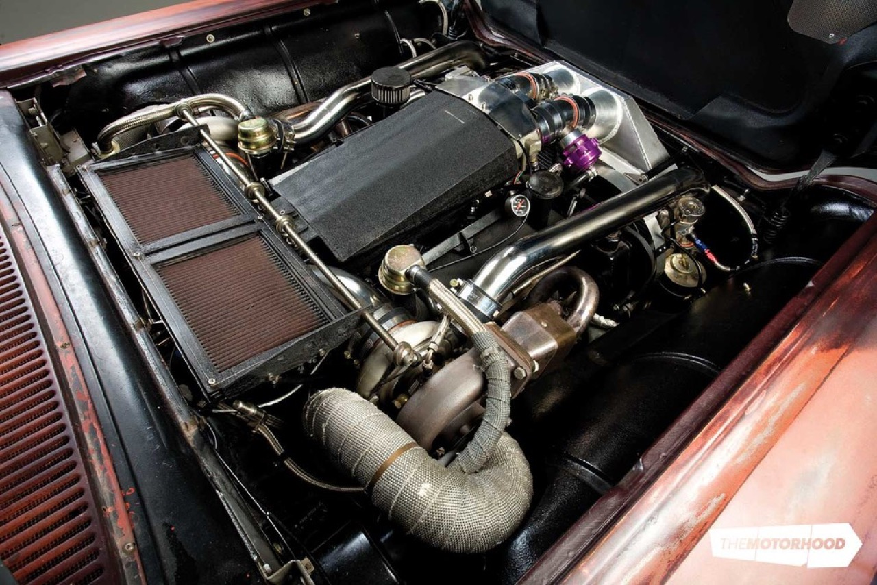 Rusty racer : Twinturbo Ford Thunderbird... 33