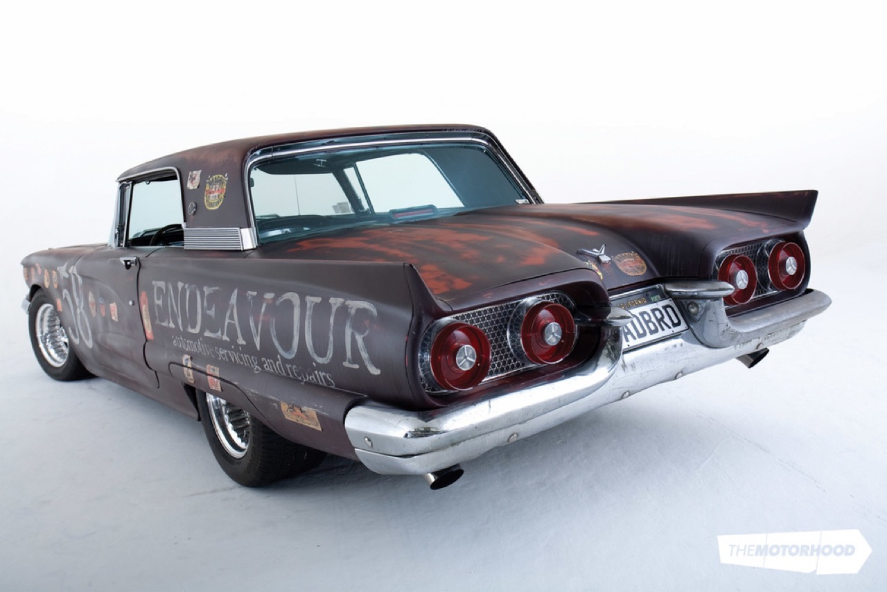 Rusty racer : Twinturbo Ford Thunderbird... 22