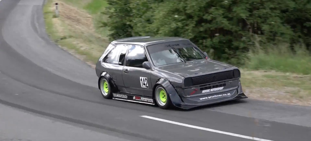 Hillclimb Monster : VW Polo 16v... Fourmi aux hormones ! 1