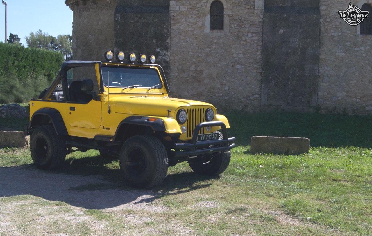 '82 Jeep CJ-7 Laredo - Quand tu te fais chier sur la route... 56