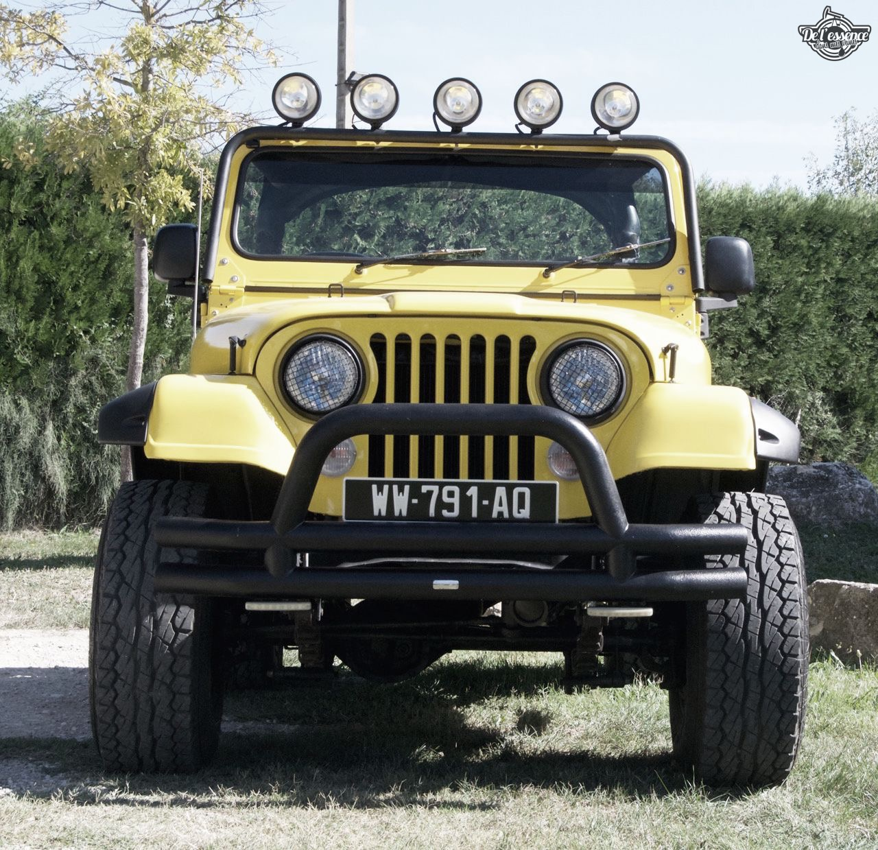 '82 Jeep CJ-7 Laredo - Quand tu te fais chier sur la route... 54
