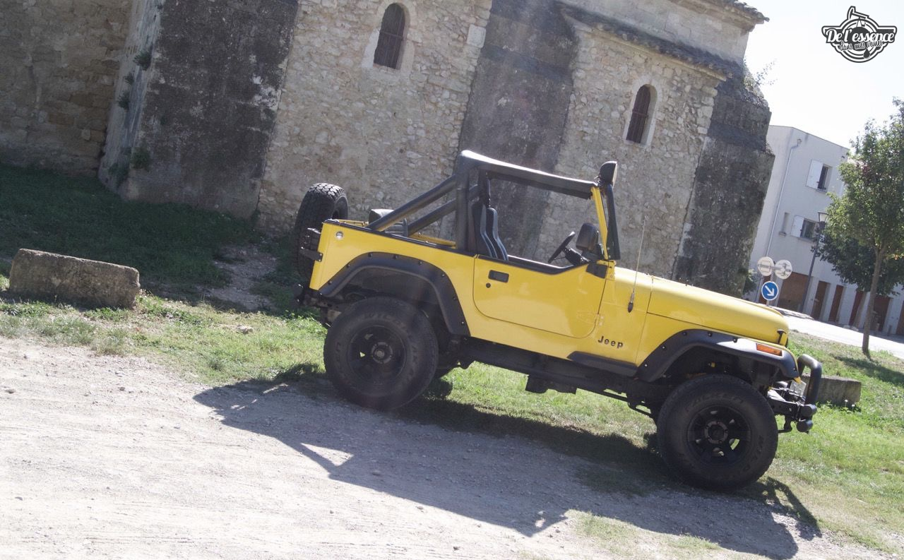 '82 Jeep CJ-7 Laredo - Quand tu te fais chier sur la route... 68