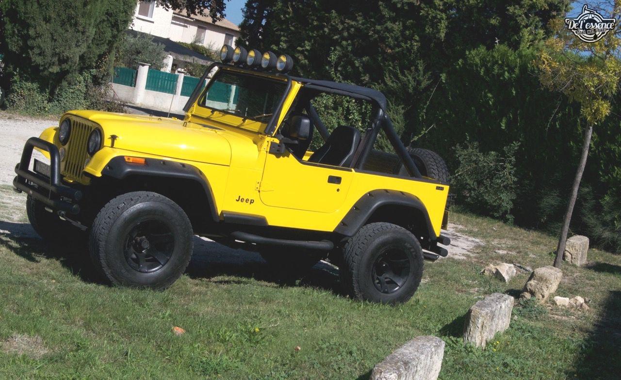 '82 Jeep CJ-7 Laredo - Quand tu te fais chier sur la route... 65