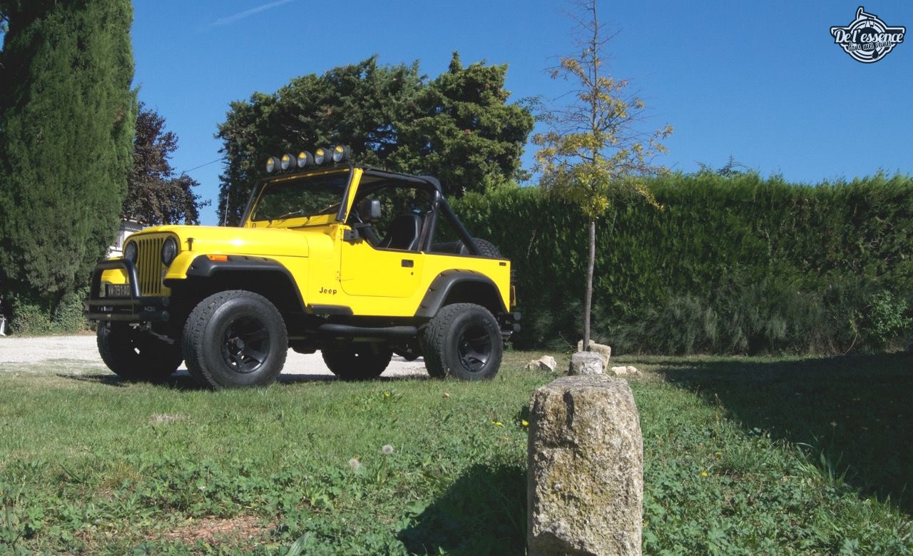 '82 Jeep CJ-7 Laredo - Quand tu te fais chier sur la route... 63