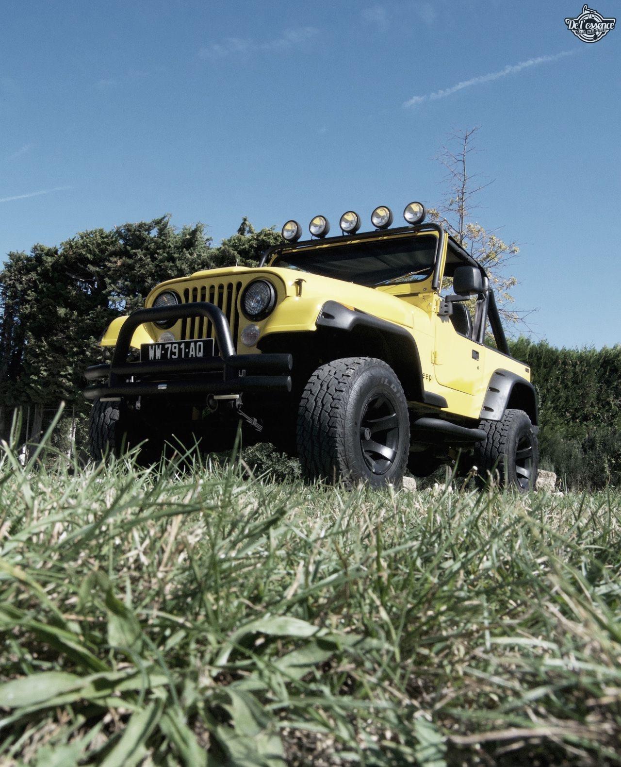 '82 Jeep CJ-7 Laredo - Quand tu te fais chier sur la route... 73