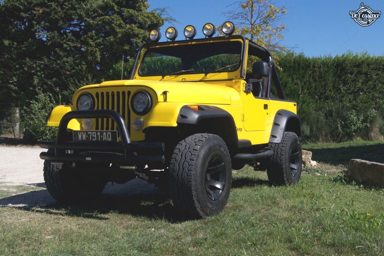 '82 Jeep CJ-7 Laredo - Quand tu te fais chier sur la route... 62
