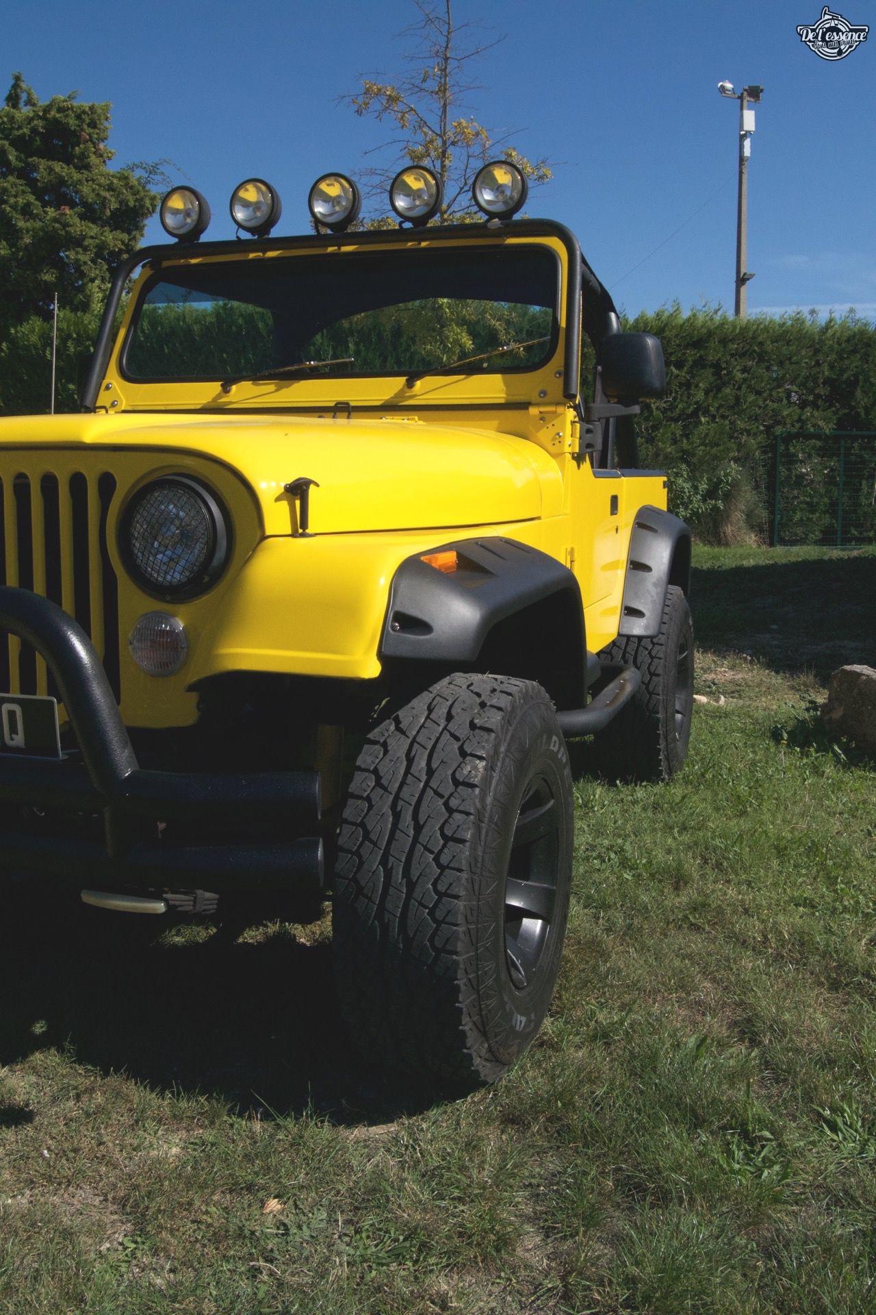 '82 Jeep CJ-7 Laredo - Quand tu te fais chier sur la route... 70