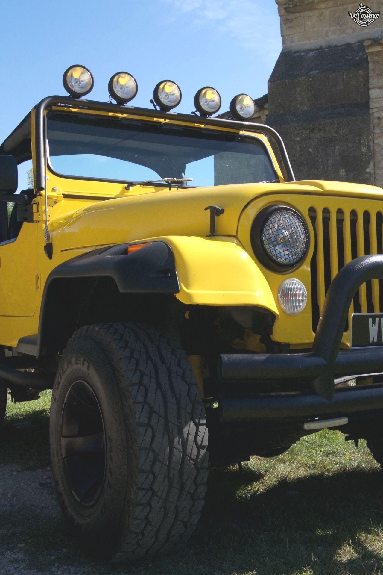 '82 Jeep CJ-7 Laredo - Quand tu te fais chier sur la route... 64